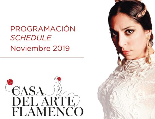 Flamenco Show Programme November 2019